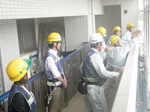 大規模修繕工事|安全パトロール